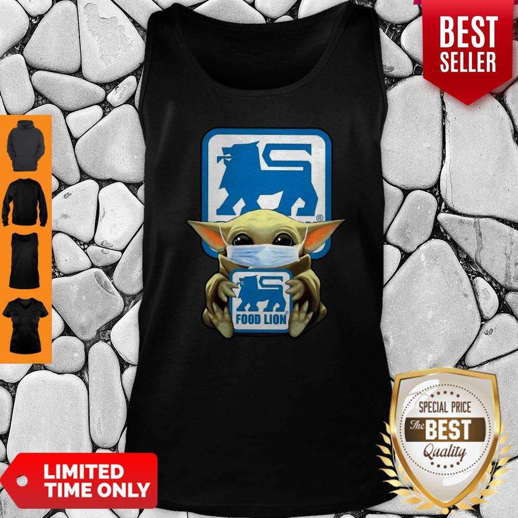 Official Baby Yoda Food Lion Coronavirus Tank Top