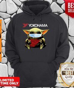 Official Baby Yoda Mask Yokohama Coronavirus Hoodie