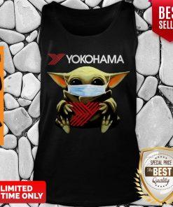 Official Baby Yoda Mask Yokohama Coronavirus Tank Top