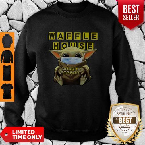Official Baby Yoda Waffle House Coronavirus Sweatshirt