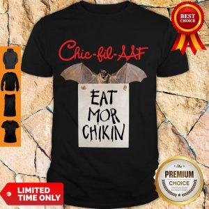 Official Chic Fil AAF Eat Mor Chikin Coronavirus Shirt