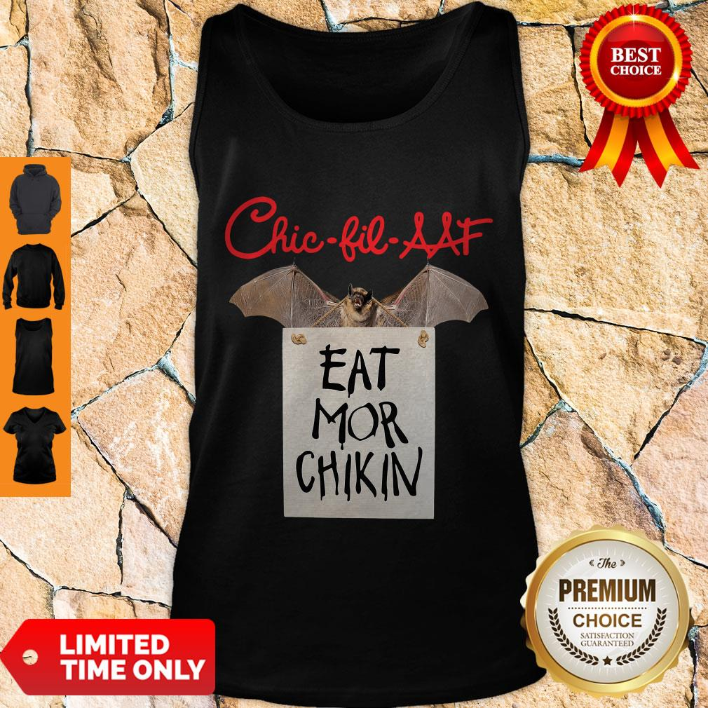 Official Chic Fil AAF Eat Mor Chikin Coronavirus Tank Top