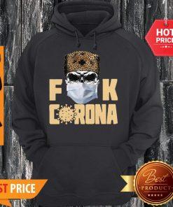 Official Leopard Skull Fuck Corona Hoodie