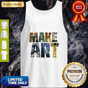 Official Make Art Tank Top