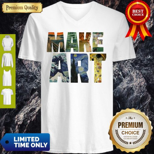 Official Make Art V-neck