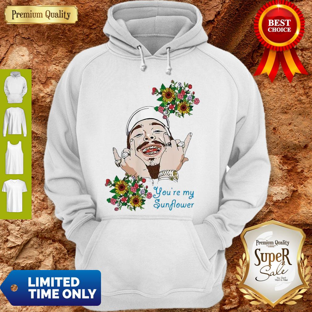 Post Malone You're My Sunflower Hoodie