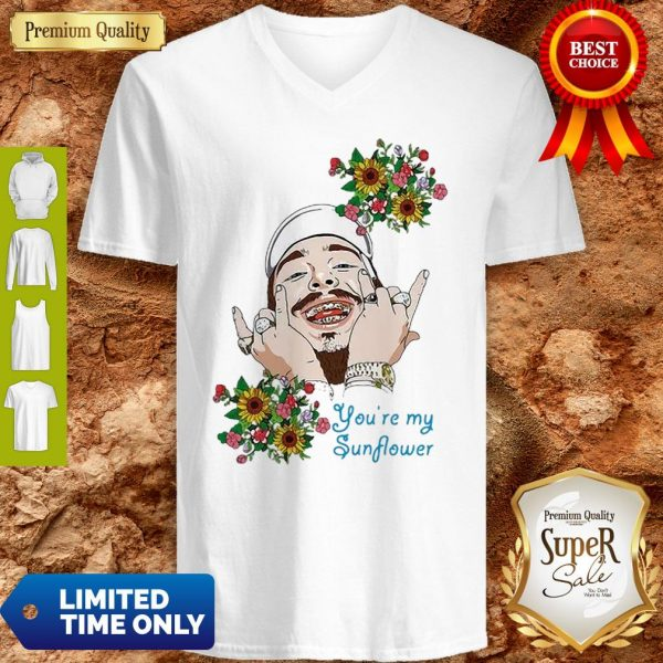 Post Malone You're My Sunflower V-neck