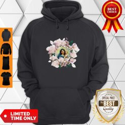 Premium Blessed Mother Mary And Jesus Flowers Hoodie - Design By Earstees.com