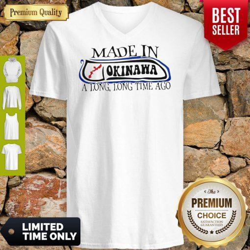 Premium Made In Okinawa V-neck