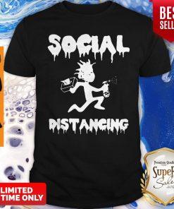 Rick And Morty Social Distancing Coronavirus Shirt
