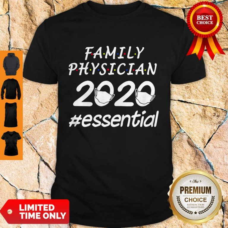 Awesome Family Physician 2020 Mask Essential Shirt