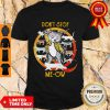 Premium Freddie Mercury And Cats Don't Stop Meow Shirt
