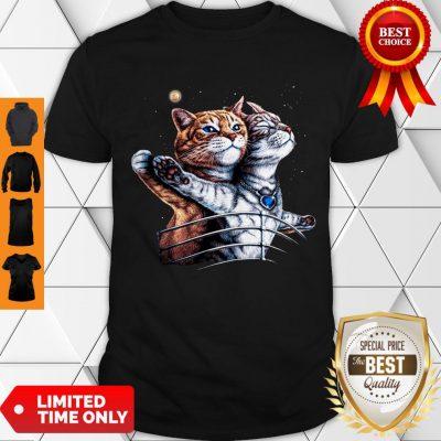 Nice Titanic Cats Funny Cat Lovers Shirt