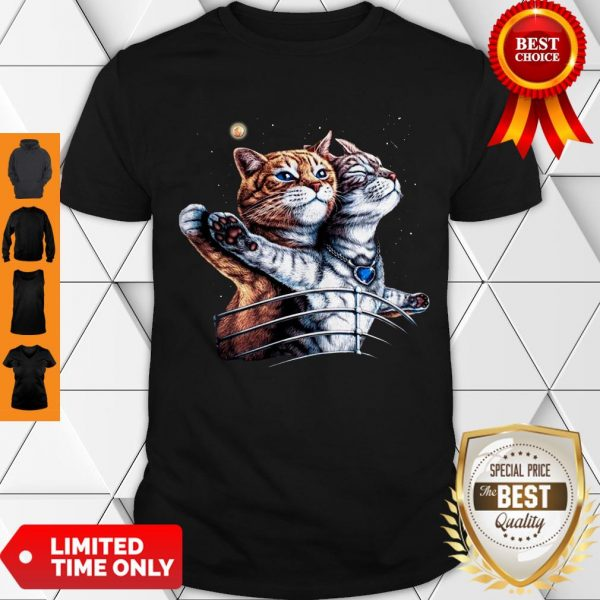 Nice Titanic Cats Funny Cat Lovers Shirt