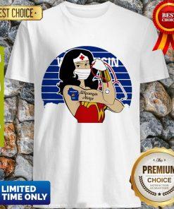 Good Wonder Woman Tattoos Wisconsin Nurse Covid-19 Vintage Shirt