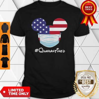 Awesome Mickey American Flag Face Mask Quarantined Shirt