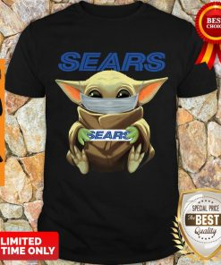 Nice Baby Yoda Face Mask Sears Cant Stay At Home Shirt