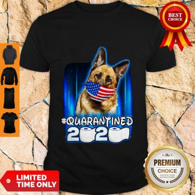 Top Becgie Face Mask American Flag Quarantined 2020 Toilet Paper Shirt