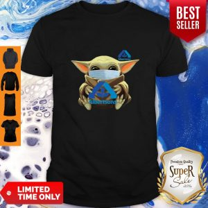 Premium Star Wars Baby Yoda Face Mask Hug Albertsons Shirt