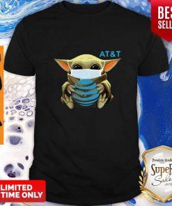 Awesome Baby Yoda Mask AT&T Coronavirus Shirt