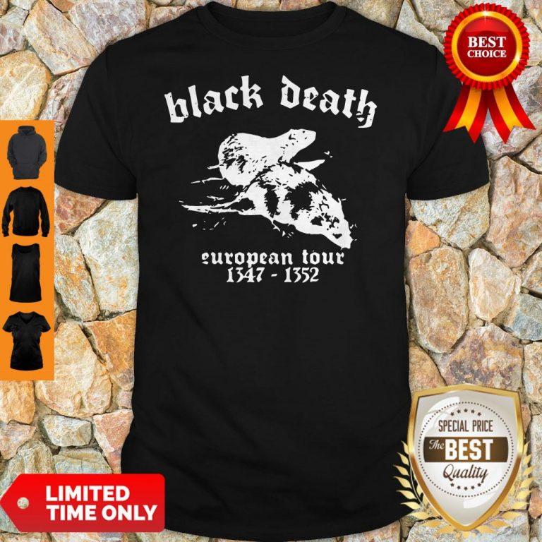 Premium Black Death European Tour 1347 - 1352 Shirt