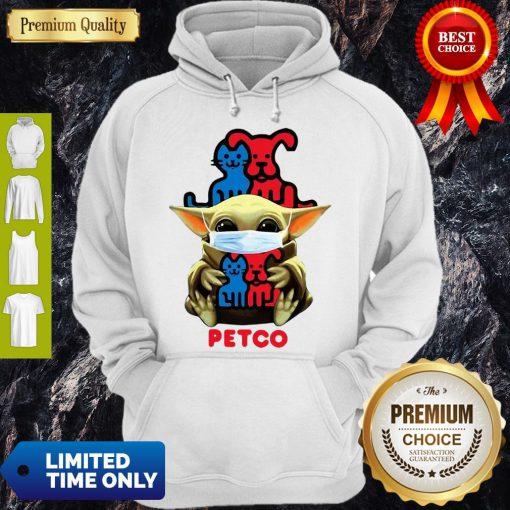 Star Wars Baby Yoda Mask Hug Petco COVID-19 Hoodie