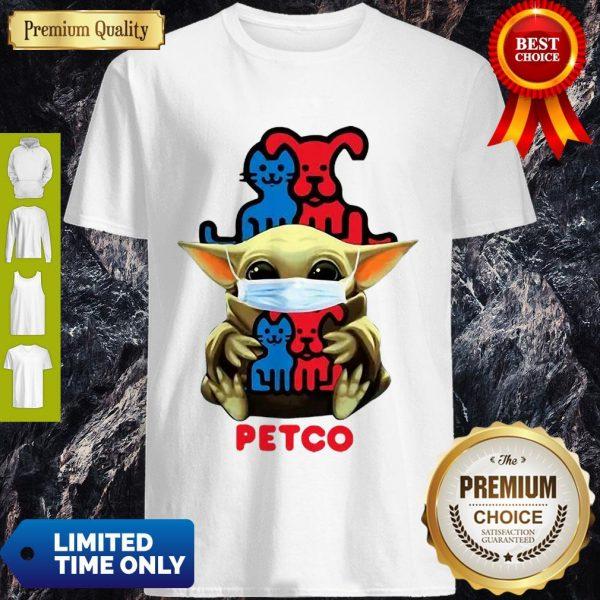 Star Wars Baby Yoda Mask Hug Petco COVID-19 Shirt