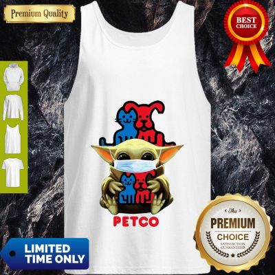 Star Wars Baby Yoda Mask Hug Petco COVID-19 Tank Top
