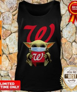Star Wars Baby Yoda Mask Hug Walgreens COVID-19 Tank Top