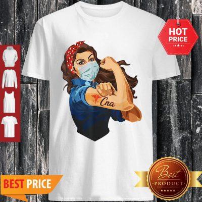 Strong Girl Tattoo CNA Certified Nursing Assistant Shirt