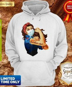 Strong Woman Mask Real Estate Agent Coronavirus Hoodie