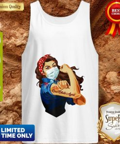 Strong Woman Mask Real Estate Agent Coronavirus Tank Top