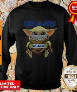 Nice Baby Yoda Face Mask Sears Cant Stay At Home Sweatshirt