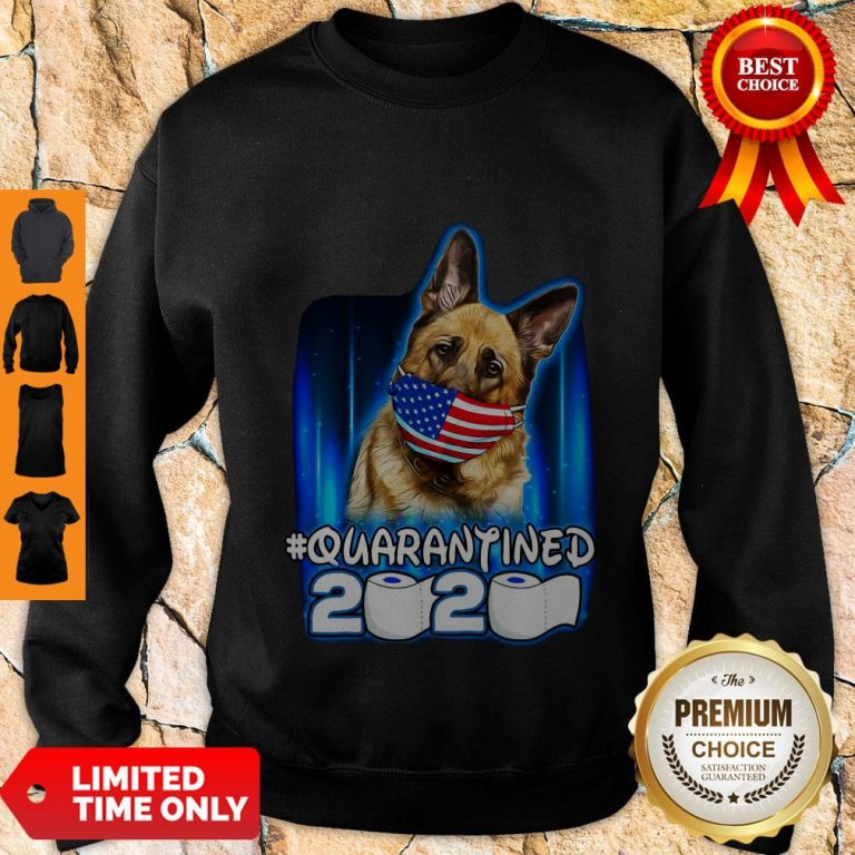 Top Becgie Face Mask American Flag Quarantined 2020 Toilet Paper Sweatshirt