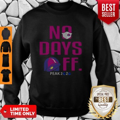 Official No Day OFF Peak 2020 Bell Mask Sweatshirt