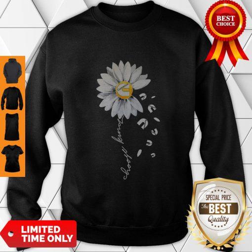 Premium Cummins Sunflower Choose Kind Daisy Flower Sweatshirt