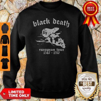 Premium Black Death European Tour 1347 - 1352 Sweatshirt