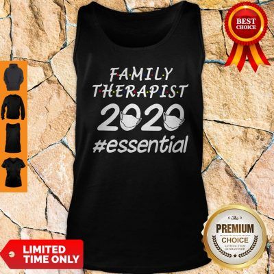 Nice Family Therapist 2020 Mask Essential Tank Top