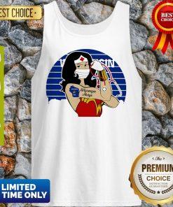 Good Wonder Woman Tattoos Wisconsin Nurse Covid-19 Vintage Tank Top