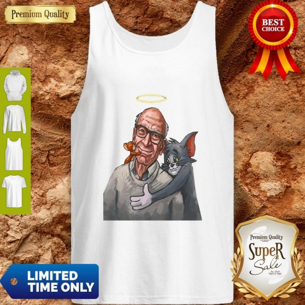 Top Rip Gene Deitch Tom And Jerry 1924 2020 Tank Top
