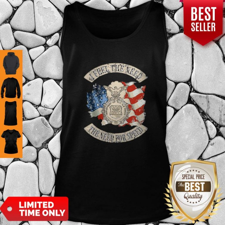 Premium American Flag I Feel The Need The Need For Speed US Air Force Tank Top