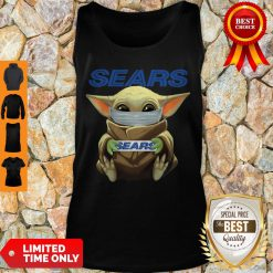 Nice Baby Yoda Face Mask Sears Cant Stay At Home Tank Top
