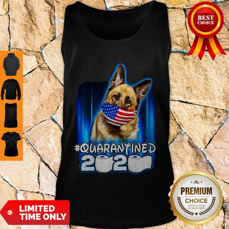 Top Becgie Face Mask American Flag Quarantined 2020 Toilet Paper Tank Top