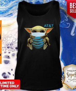 Awesome Baby Yoda Mask AT&T Coronavirus Tank Top