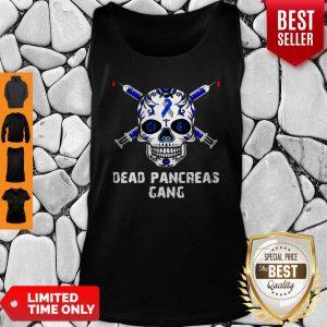 Premium Diabetes Skull Dead Pancreas Gang Tank Top