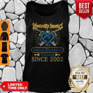 Awesome Kingdom Heart Social Distance Training Since 2002 Tank Top