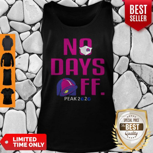 Official No Day OFF Peak 2020 Bell Mask Tank Top