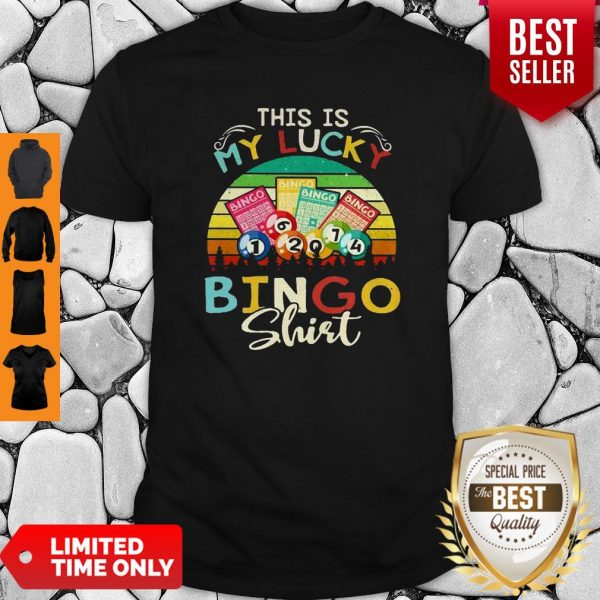 This Is My Lucky Bingo Vintage Shirt