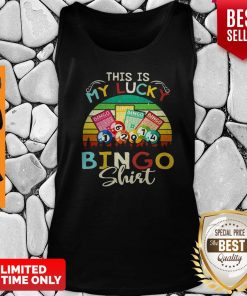 This Is My Lucky Bingo Vintage Tank Top