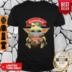 Top Baby Yoda Face Mask Hug Hannaford I Can't Stay At Home Shirt - Design By Earstees.com